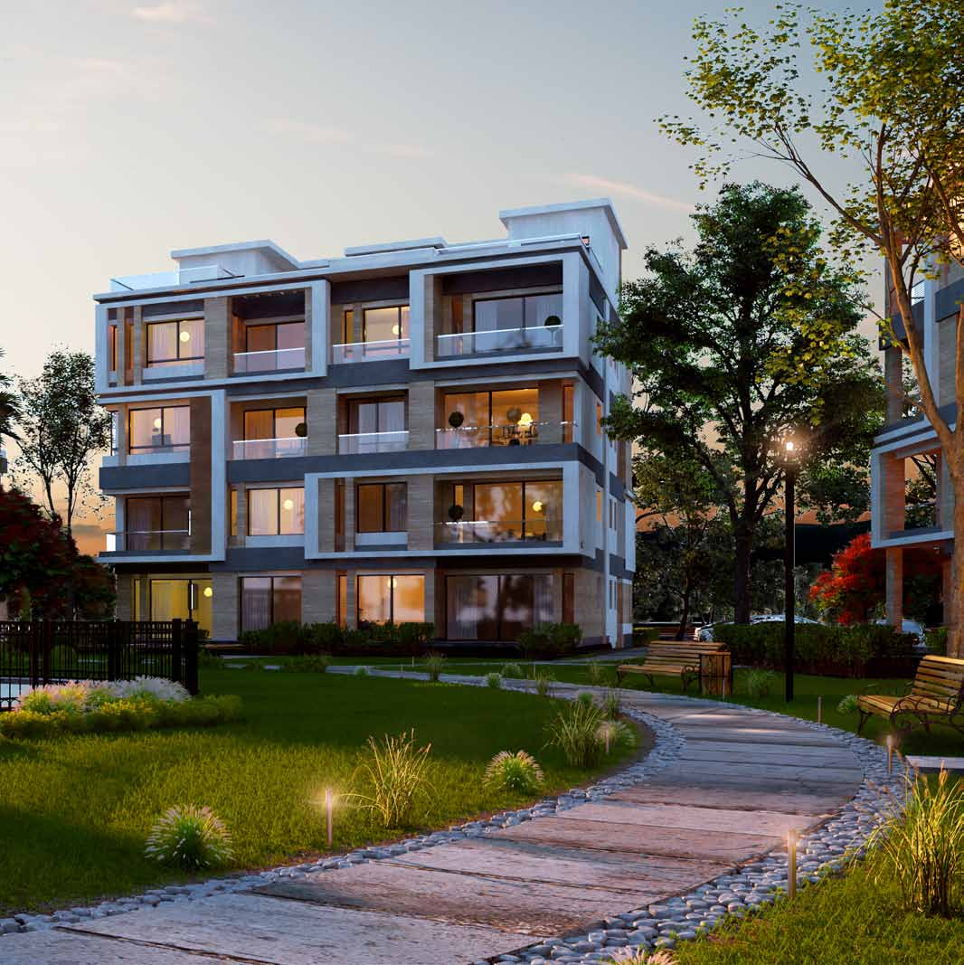 Garden Apartment: SODIC Projects Westown October